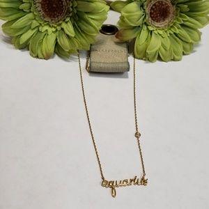 Anthropologie Aquarius necklace